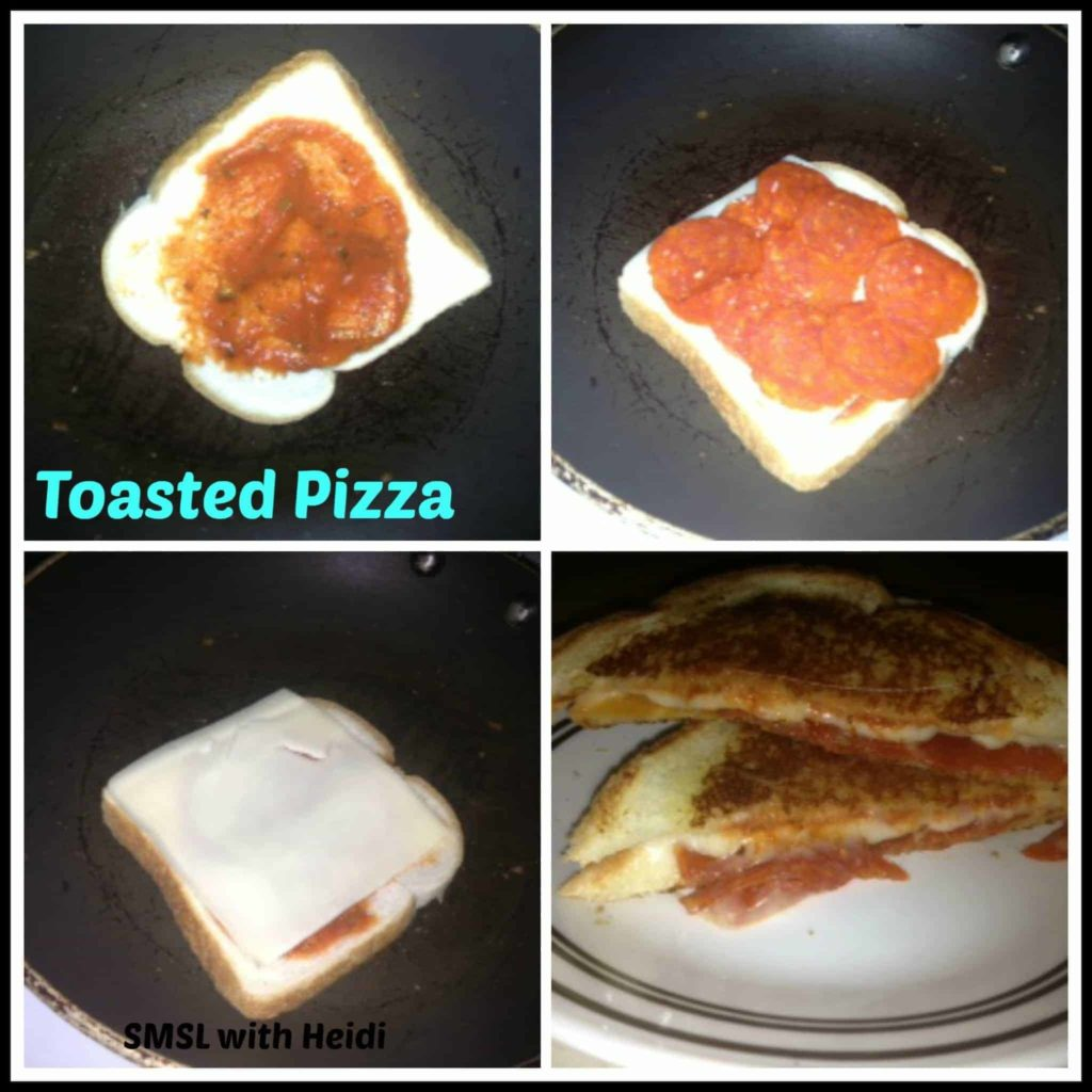 Toasted Pizza A Quick and Easy Lunch