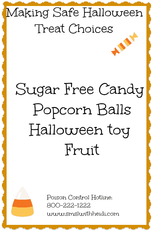 Making Safe Halloween Treat Choices