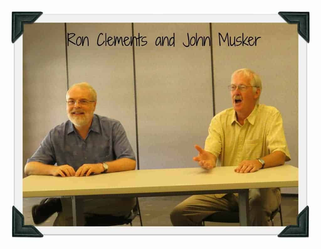 John Musker and Ron Clements