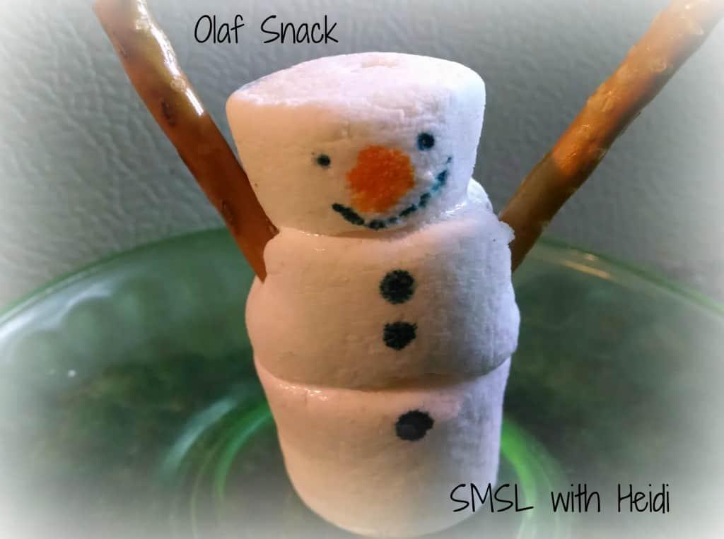 Olaf-Marshmallows
