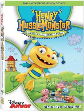 Henry Hugglemonster: Meet the Hugglemonsters on DVD 1/14/14