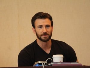 Chris Evans Interview Captain America