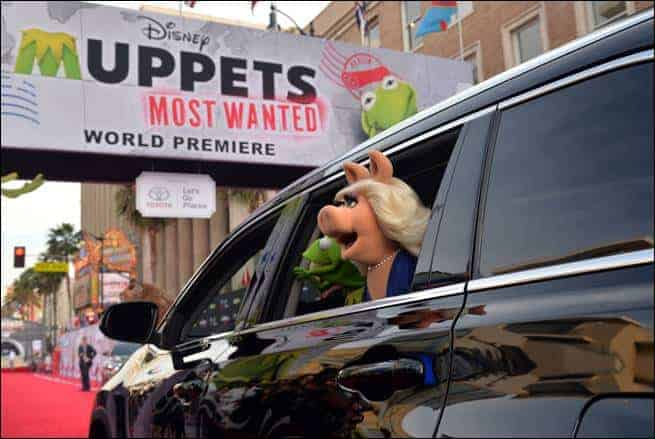 Muppets Most Wanted Premiere at the El Capitan Theatre