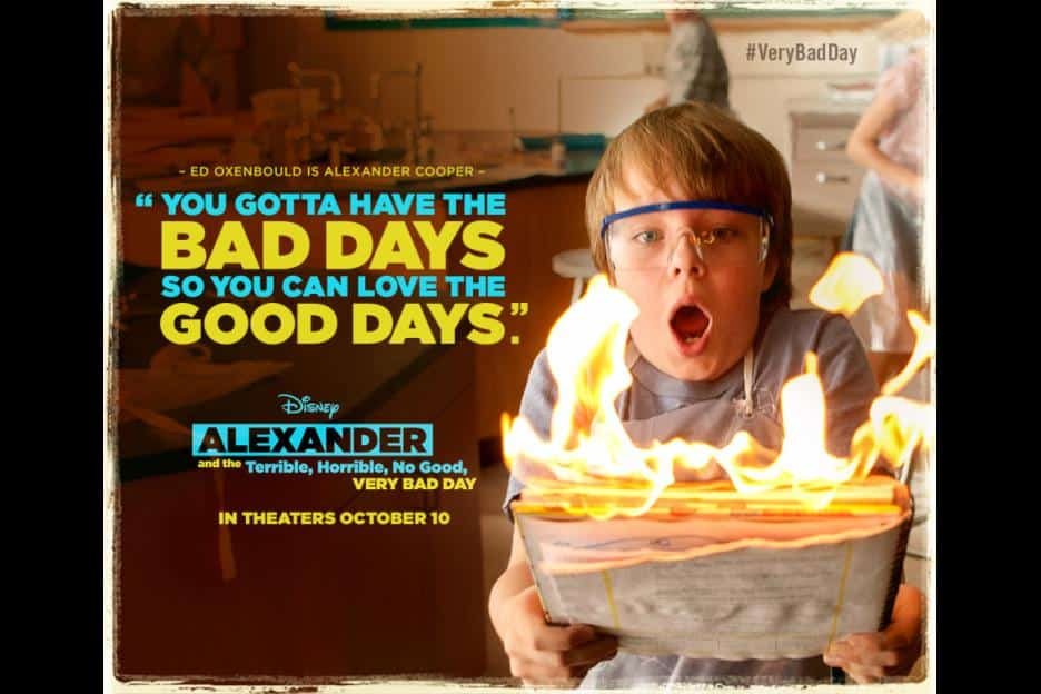 TV Spot of Alexander the Horrible No Good Very Bad Day