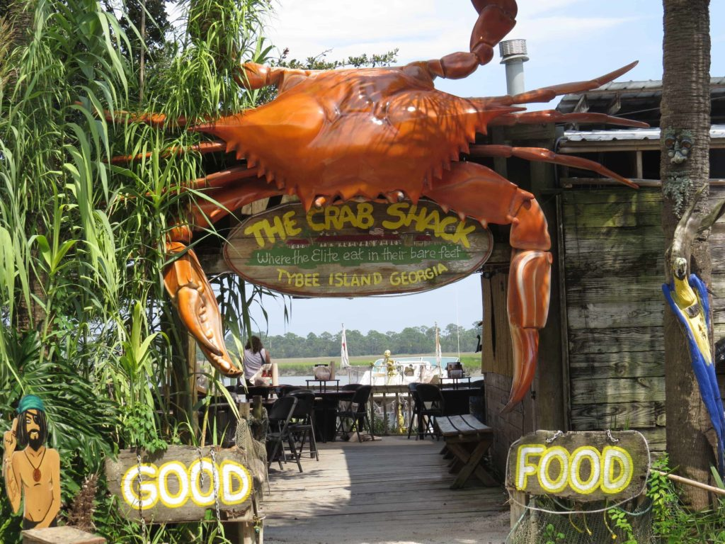 Crab Shack at Chimney Creek