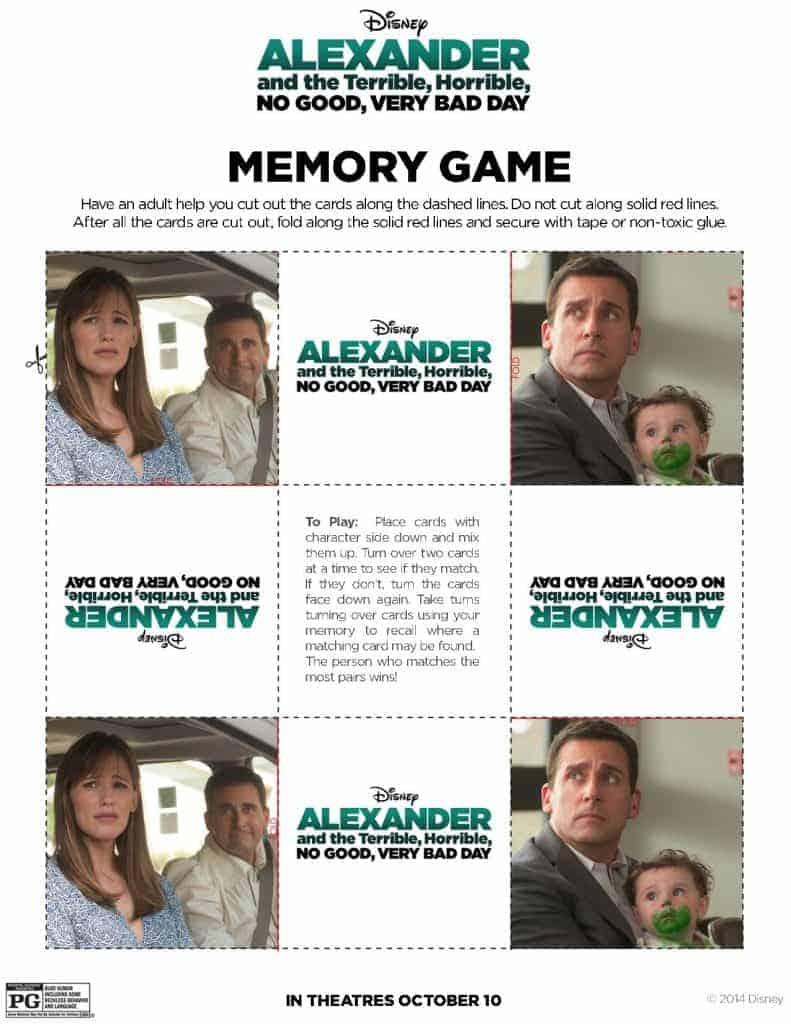 Memory Game pg 1