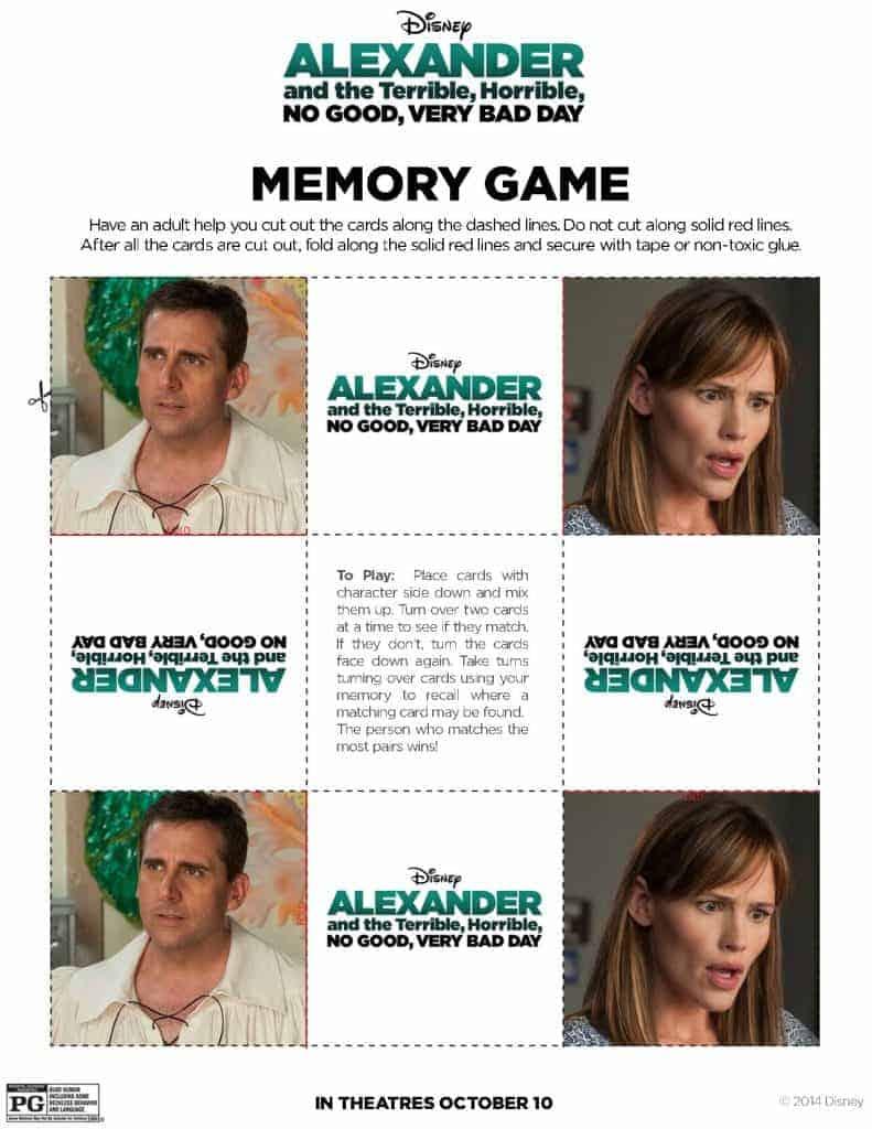 Memory Game pg 2