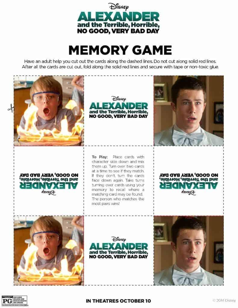 Memory Game pg 3