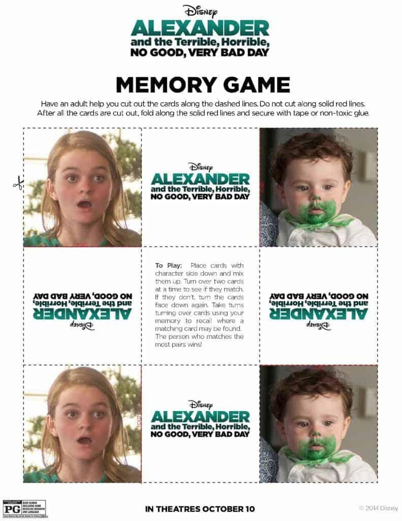 Memory Game pg 4