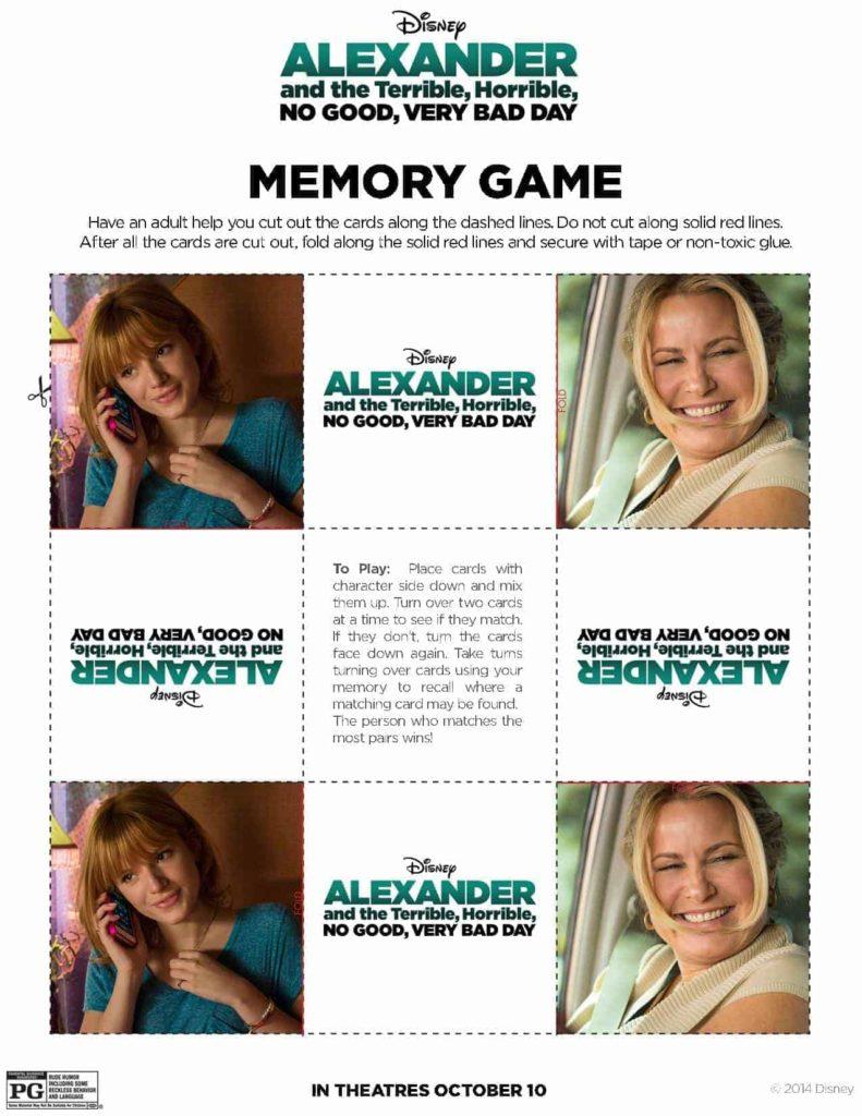 Memory Game pg 5