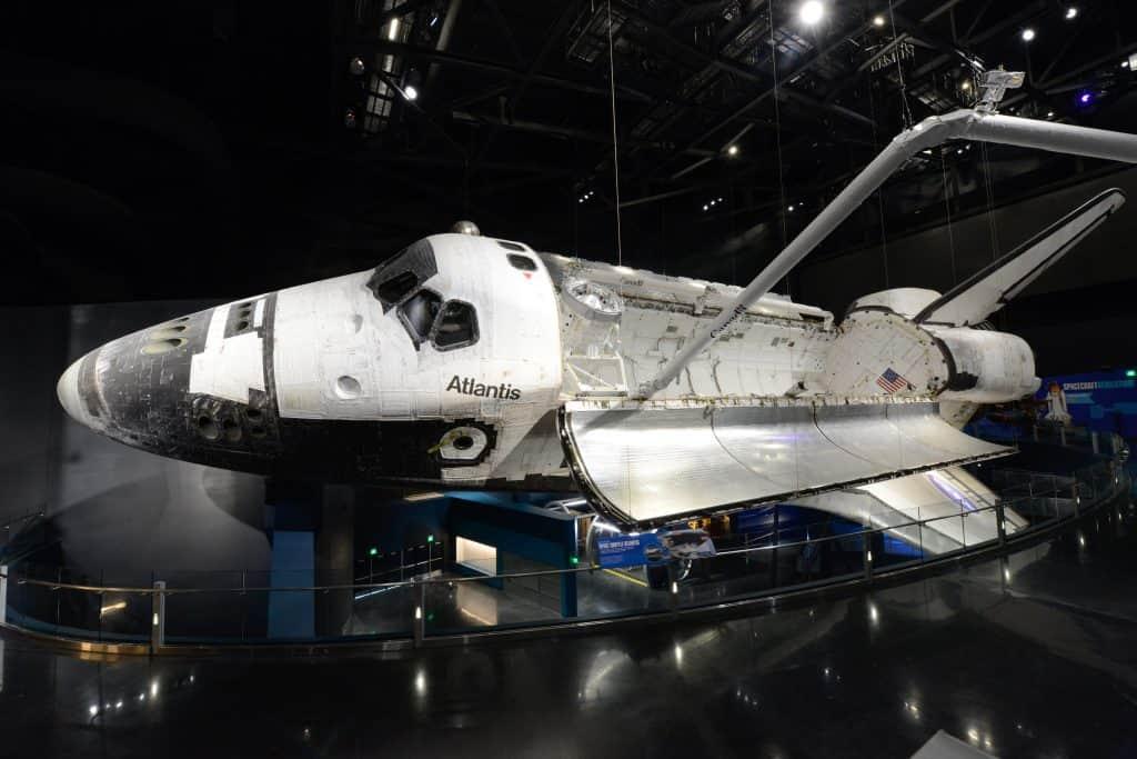Atlantis from On Orbit Gallery