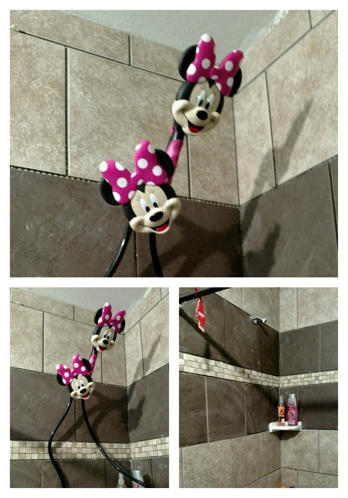 Minnie Mouse Showerheads