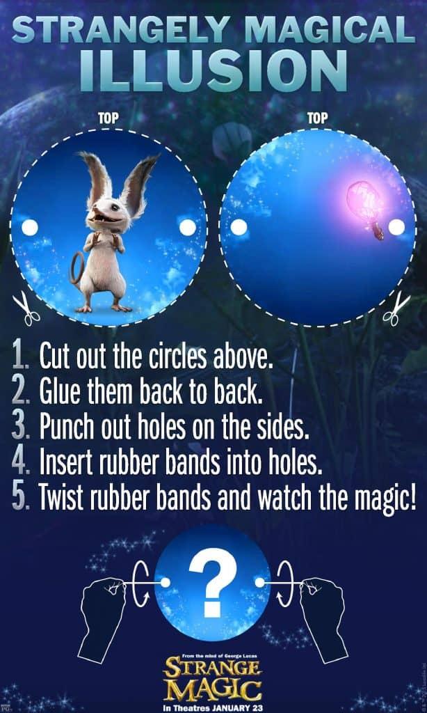 Strange magic Illusion