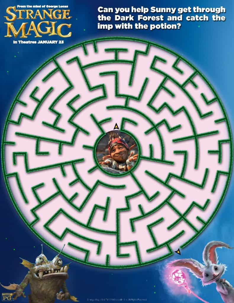 Strange Magic Maze