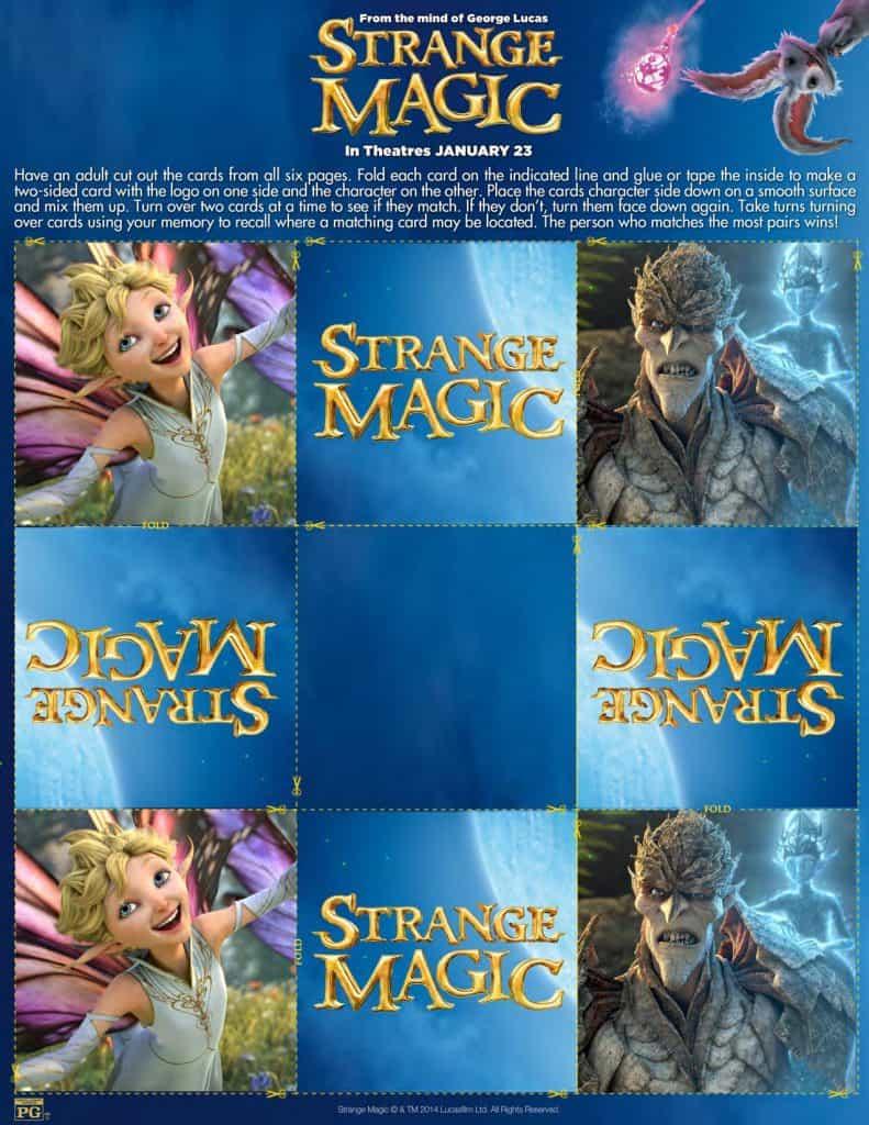 Strange Magic Memory
