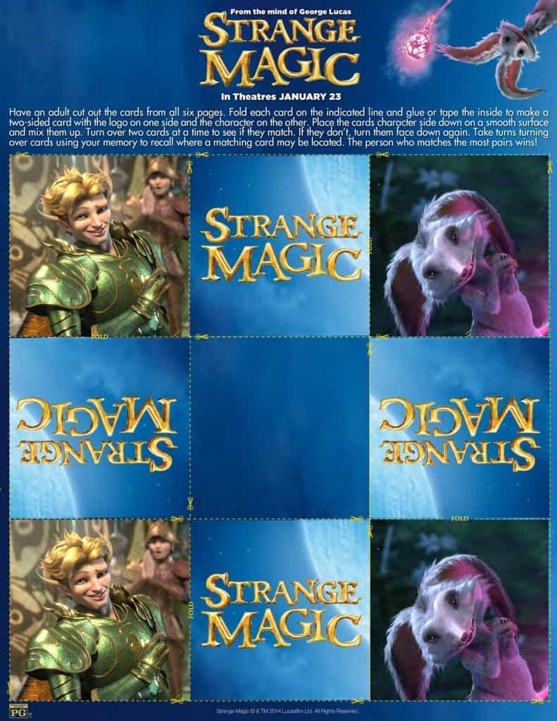 Strange Magic Memory Game