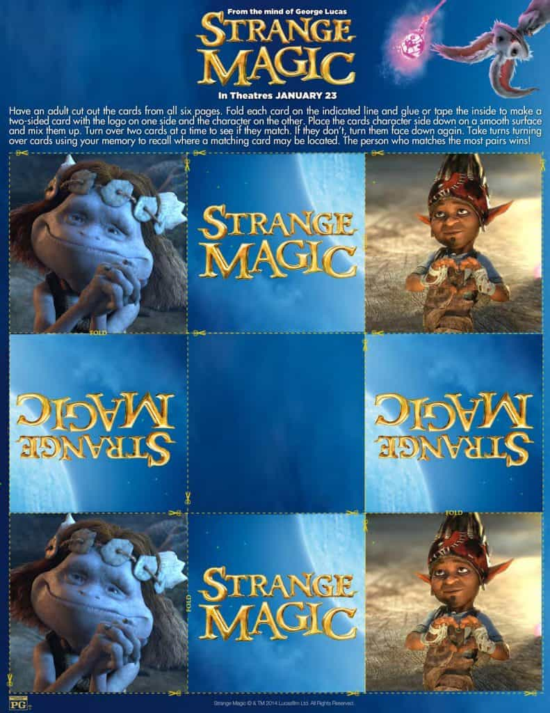 Strange Magic Memory Game