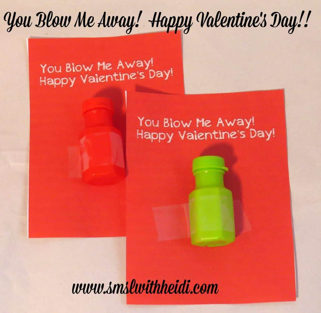 graphic regarding You Blow Me Away Valentine Printable identified as On your own Blow Me Absent Valentine