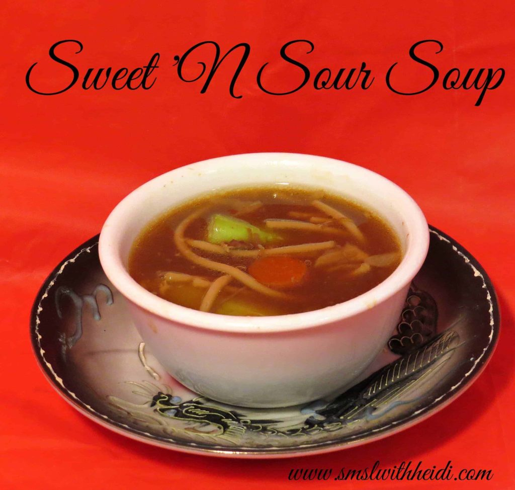 Sweet N Sour Soup Recipe