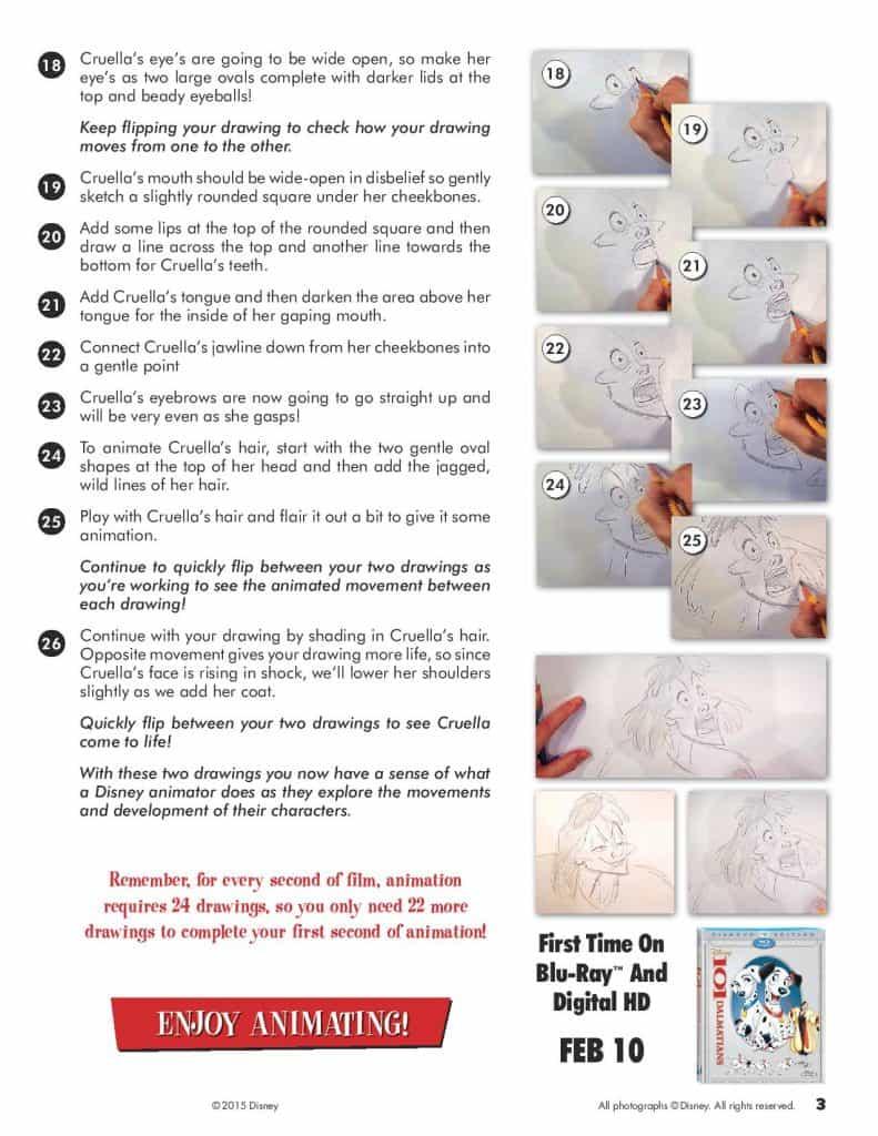 Draw Cruella Page 3