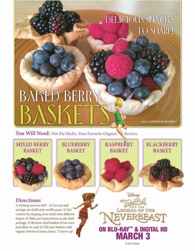 Baked Berry Baskets