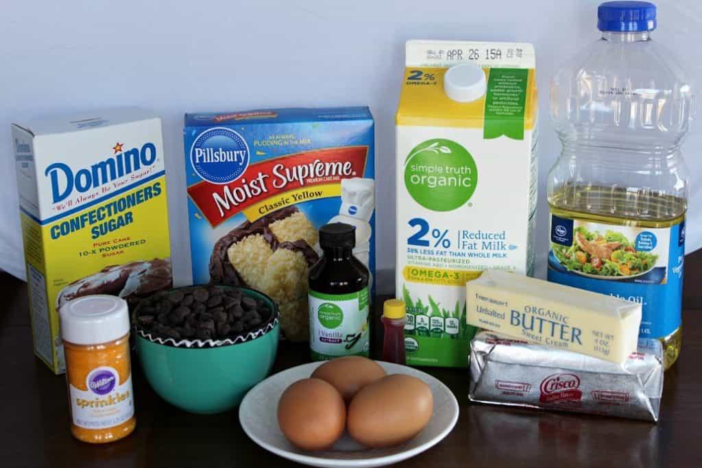 Duck Cupcakes Ingredients