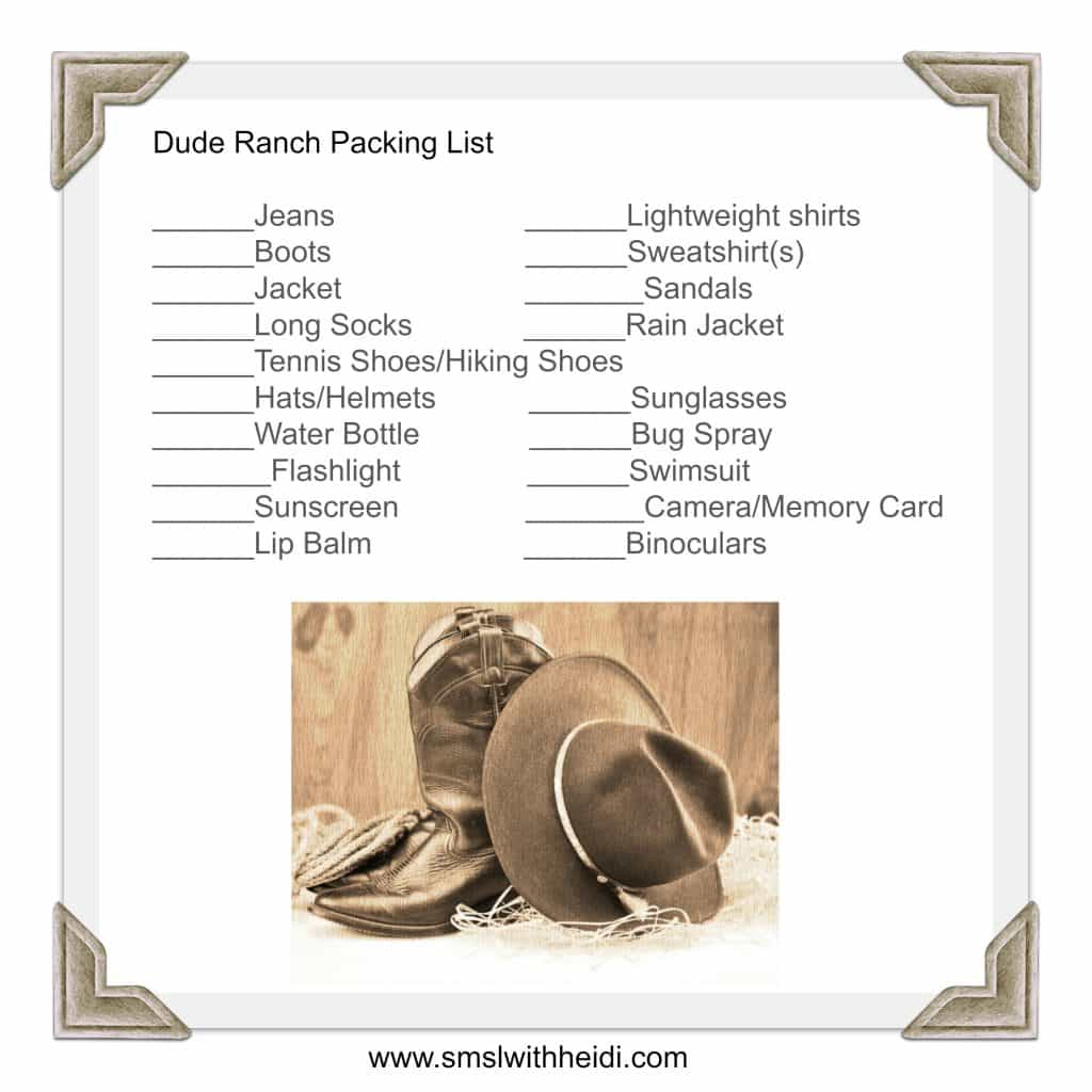 Dude-Ranch-Packing-List