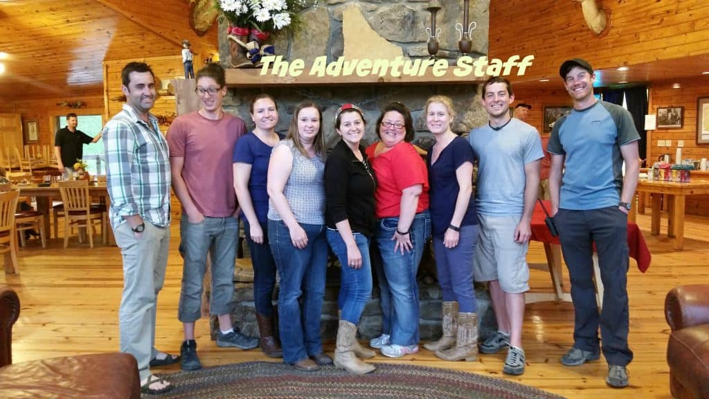 Horseshoe Canyon Ranch Adventure Staff
