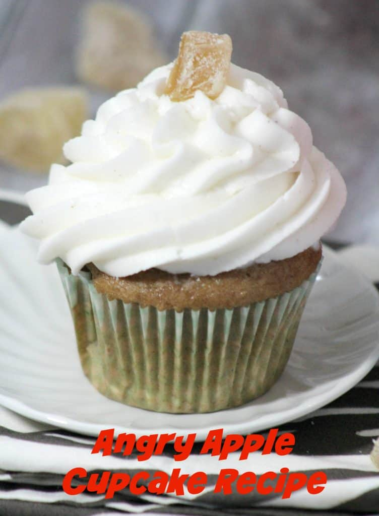 Angry Apple Cupcake Recipe