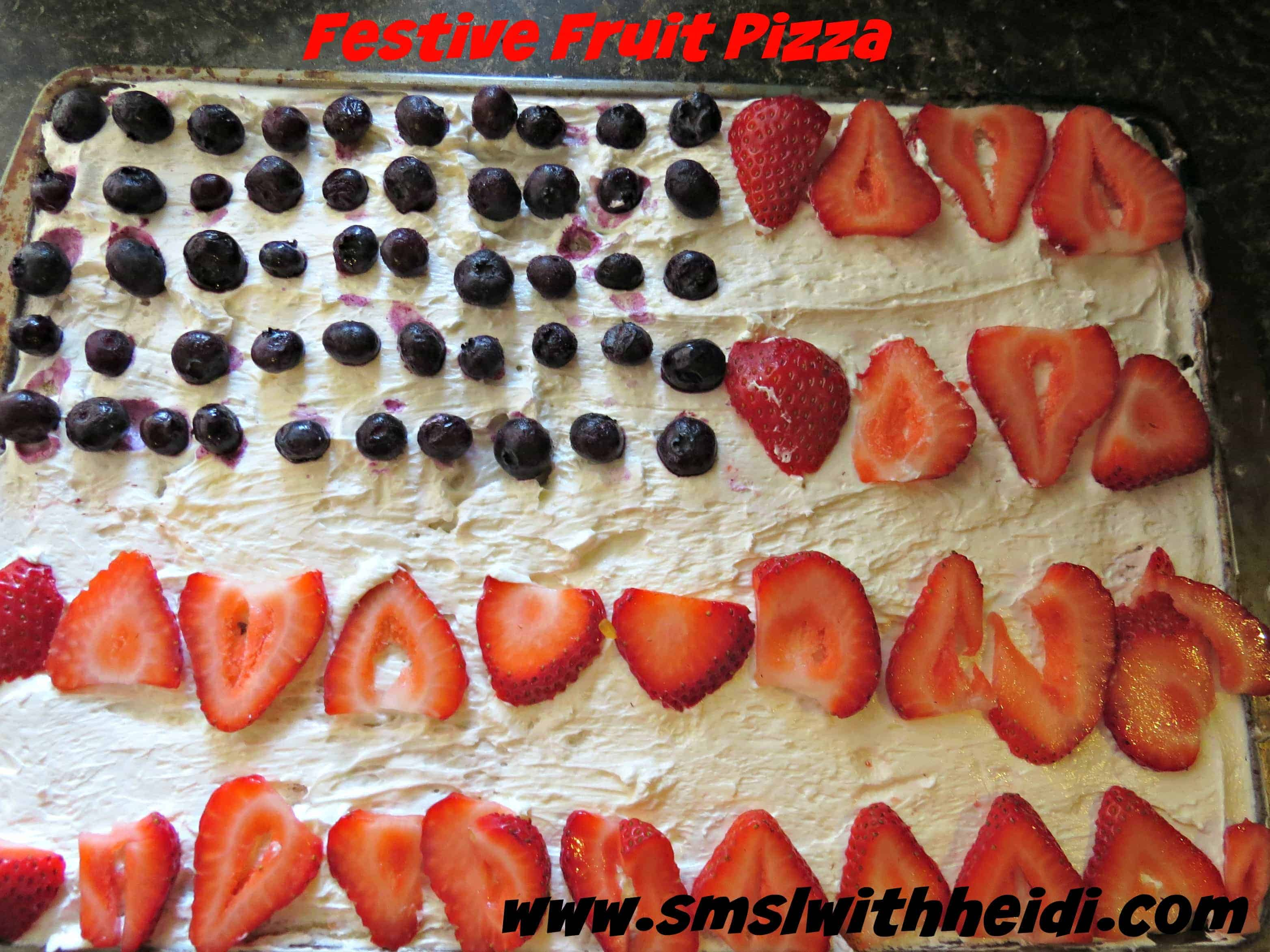 Festive Fruit Pizza