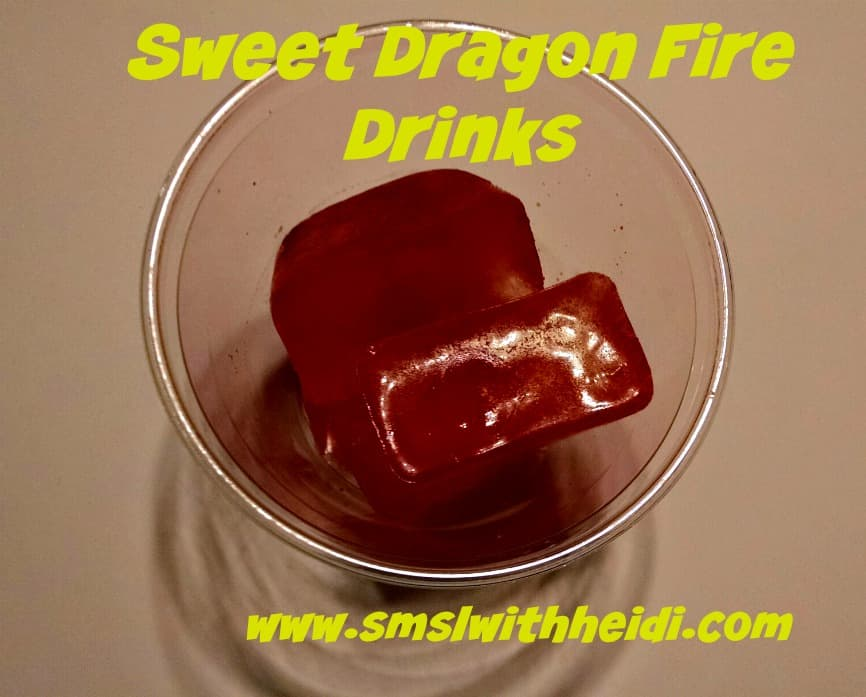 Sweet Dragon Fire Drinks Ice