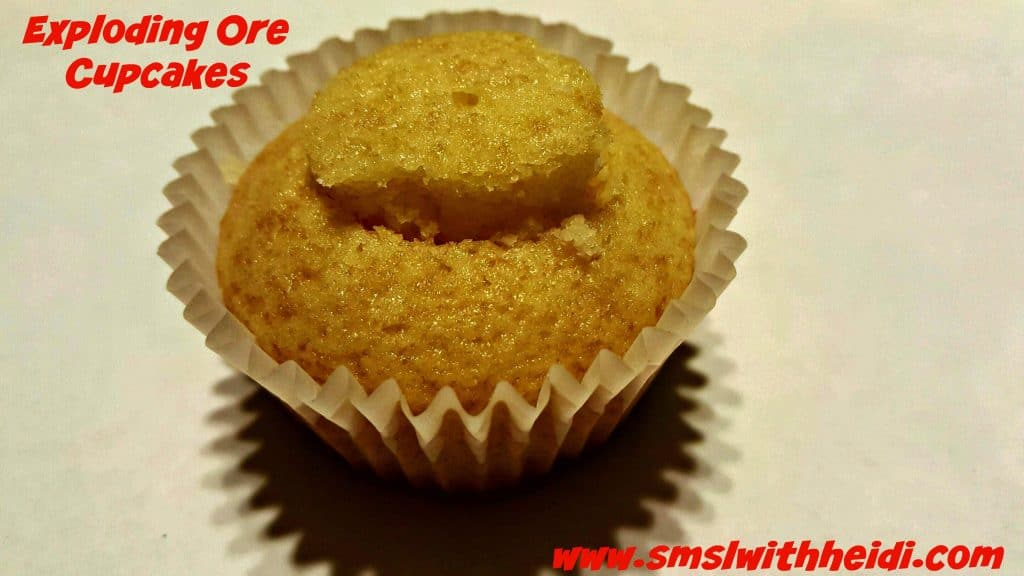 Exploding Ore Cupcakes