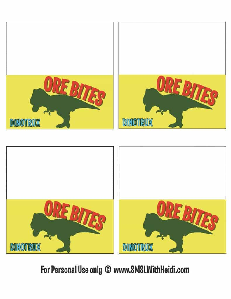 Ore Bites Inspired By DinoTrux
