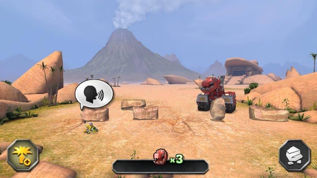 DinoTrux App from Dreamworks