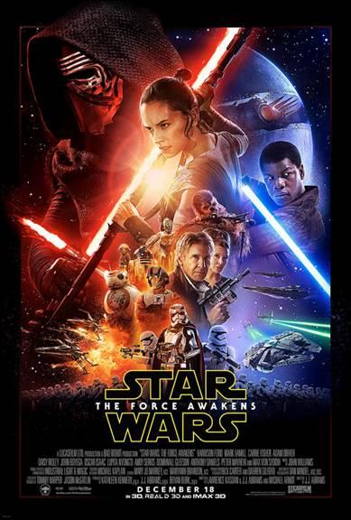 #StarWars #TheForceAwakens
