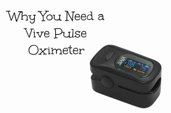 Why you need a Vive Pulse Oximeter