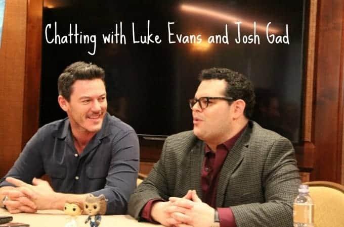 Chatting with Luke Evans and Josh Gad