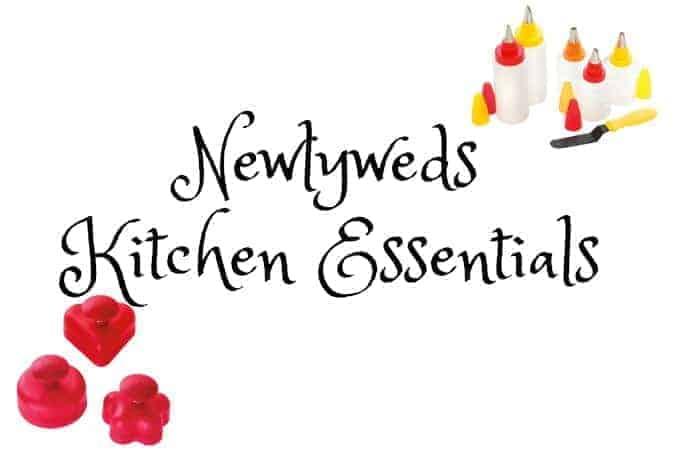 Newlyweds Kitchen Essentials