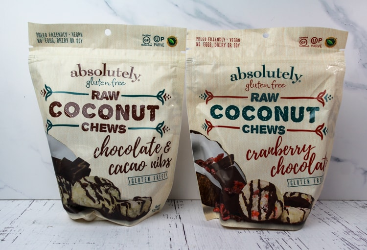 Raw Coconut Chews