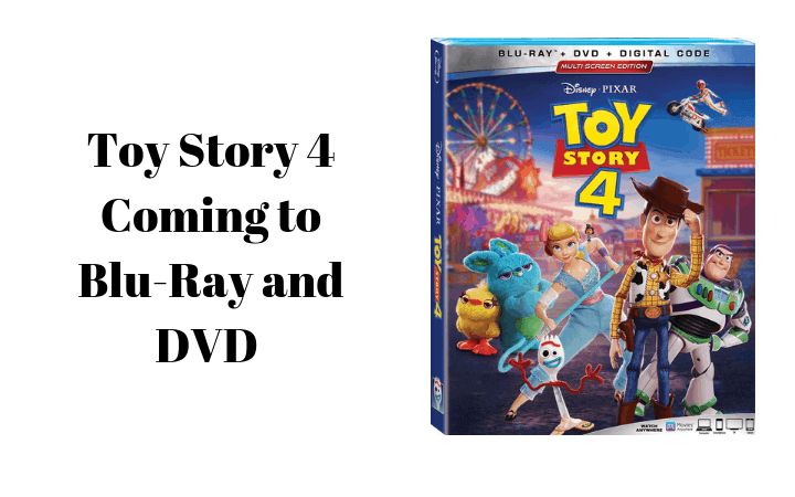 Toy Story 4 Coming to Blu-Ray and DVD