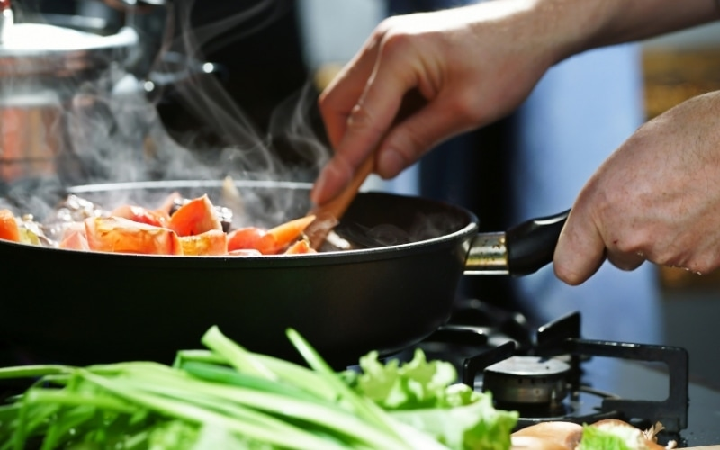 More Americans Cook at Home During the COVID-19 Pandemic